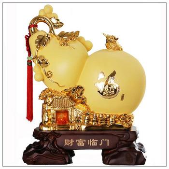 24 k gouden kleur wu lou feng shui wu lou kalebassen buy product on - Kleur feng shui badkamer ...