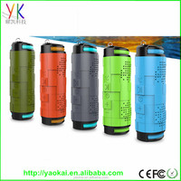 Portable Shockproof Waterproof Bicycle Wireless Bluetooth 4.0 Speaker Super Bass