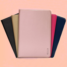 2017 flip leather smart cover tablet case for ipad air mini pro 9.7 10.5 inch case with handholder