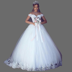 3441cf15c6a1 Lace Off Shoulder Wedding Gown Wholesale