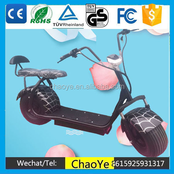 Cheap Sale Electrick Bike 1000W 60V Harley Electric Scooter