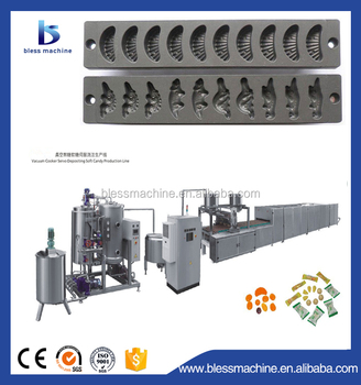 Multifunctional automatic starch soft candy moulds with CE and ISO
