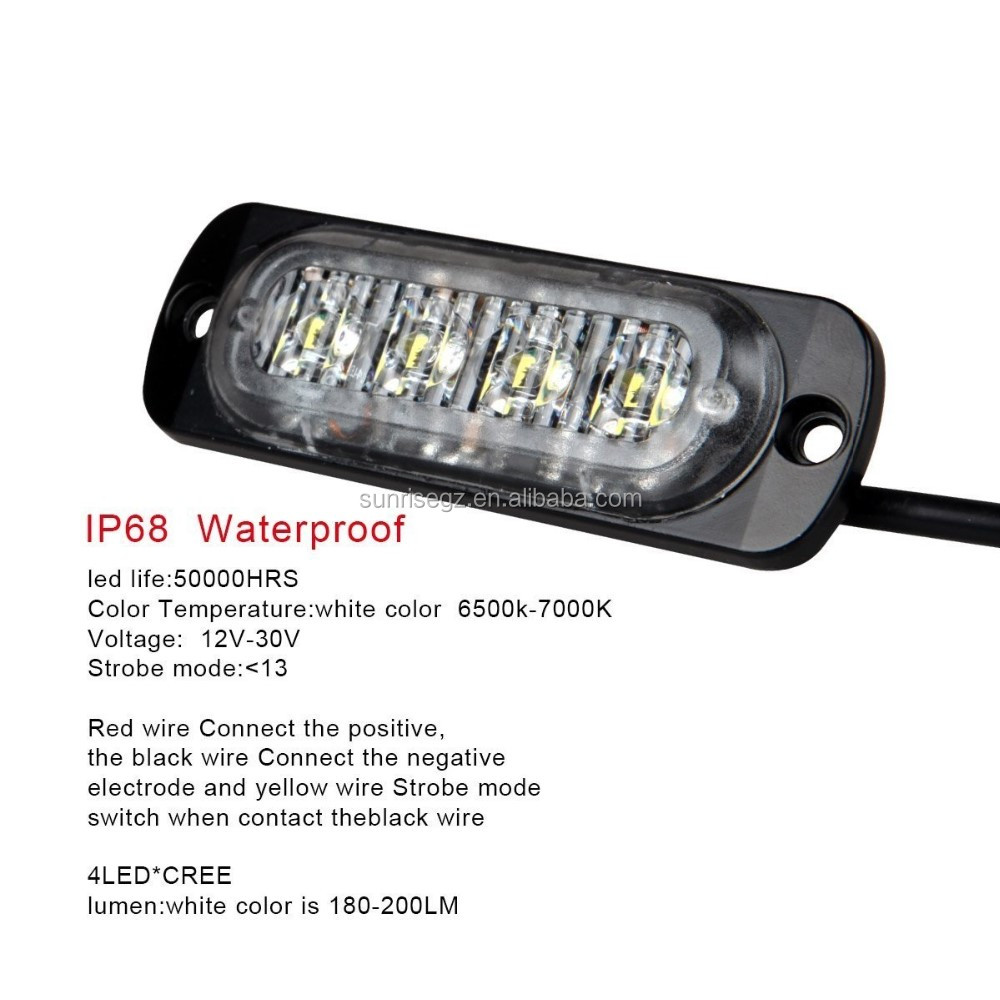 lighting head profile strobe mini single lights dual watch watt youtube or vehicle light low led color