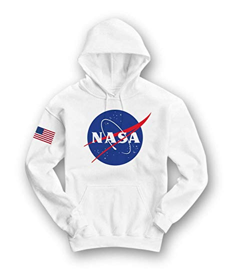 Customized high quality pullover NASA mens hooded hoodies фото