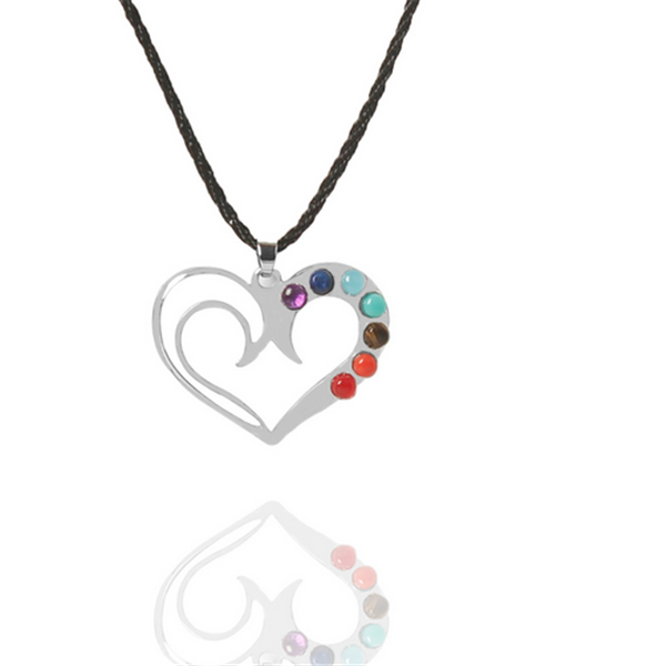 Yiwu Aceon Copper Material Silver Plated Custom Order Stock Colorful beads yoga energy Pendant