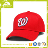 Red cotton wholesale cheap one size fits all flexfit baseball cap