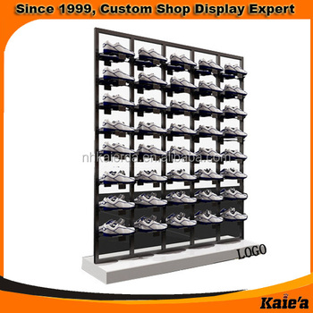 Glass Shoe Rack Display/display Shelving For Shoes/shoes Display Fixture