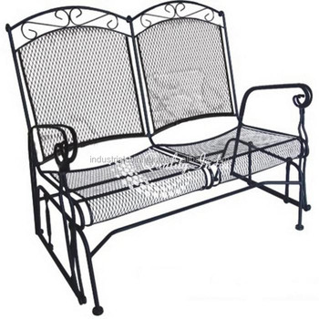 Miraculous Metallic Two Seater With Arm Rest Sofa Garden Chair Buy Outdoor Garden Chair Vintage Metal Garden Chairs White Wedding Garden Chairs Product On Bralicious Painted Fabric Chair Ideas Braliciousco