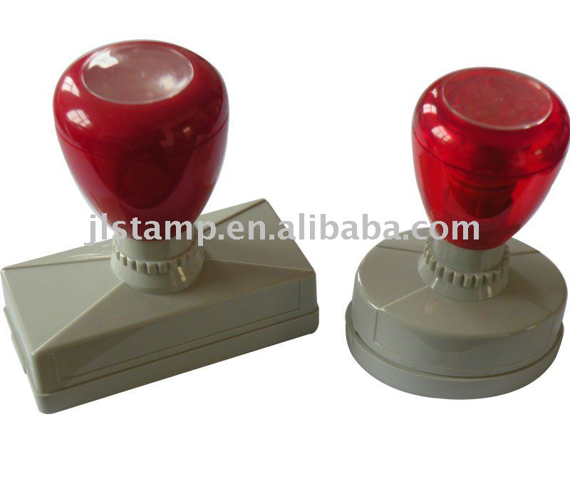 Atom rubber Flash foam Stamp