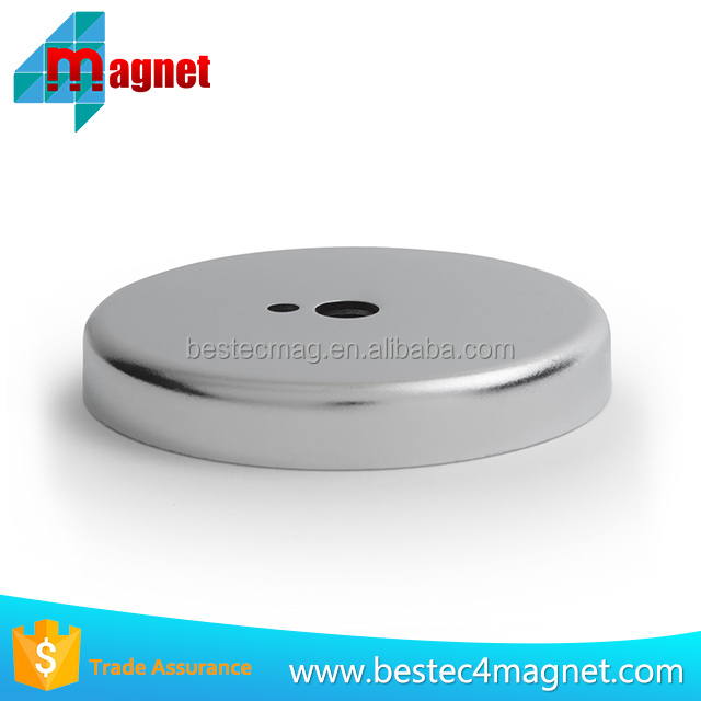Strong Recovery Magnet Clamping 66mm X 10mm Sea Fishing Round Magnet
