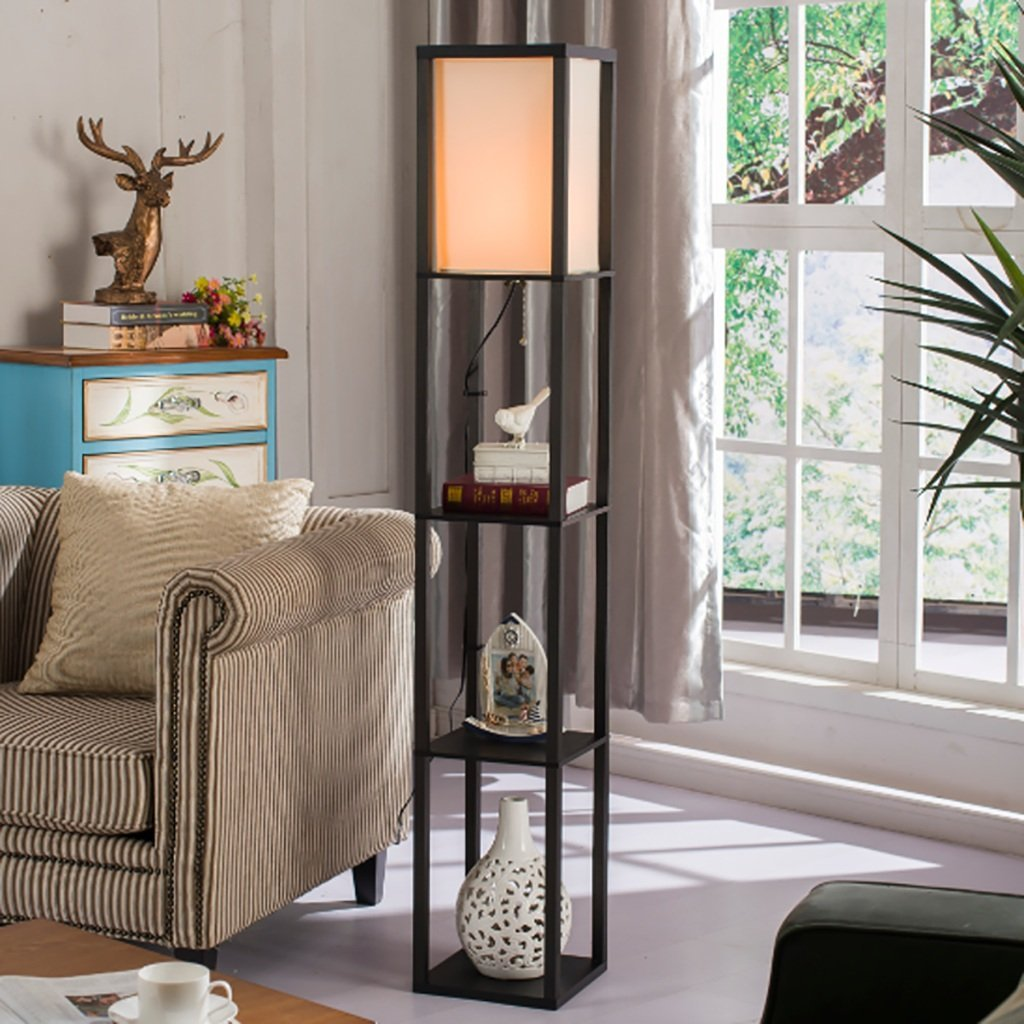 Floor Lamps Friendly The Living Room Floor Lamp Bedside Lamp Floor Lamp Nordic Creative European Vertical Shelf Lamp Postage Free Lamps & Shades