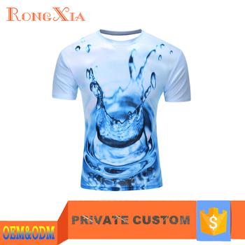 Personalized Custom Image High Quality Full Print T Shirt ...