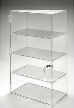 vente chaude clair acrylique vitrine avec serrure buy product on. Black Bedroom Furniture Sets. Home Design Ideas