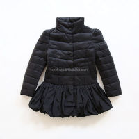Z60480Y Wholesale Children Girls Winter Cotton Padded Light Jacket Kid Girl Dress Jackets