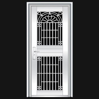 Ss main door design indian main door designs stainless for Steel door design