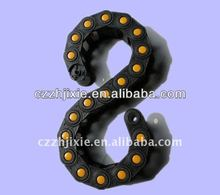 Machine tools plastic cable cover