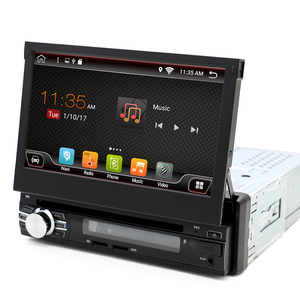 KANOR 7 inch universal 1 din android 7.1 car dvd player with bluetooth gps wifi car stereo mirror link radio cassette recorder