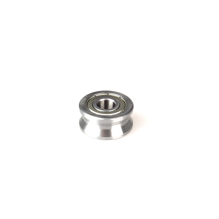 U groove 8mm bore bearing for 12mm shaft U22 T22 8*22.5*14.5*13.5mm track roller bearing