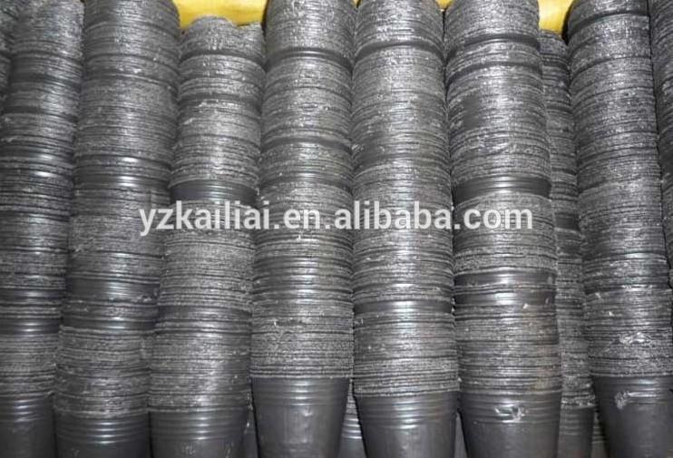 macetas de plástico negro para planta de vivero-maceteros para