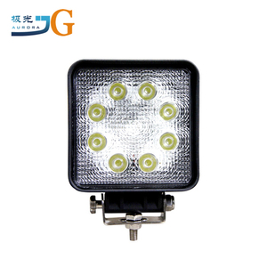 4'' 24w 12V 24V Spot/Flood LED Work Light Auto Spare Parts Car for Vehicle Truck ATV SUV Jeep Boat OffRoad Tractor AAL-0524