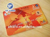 PVC Colorful Card with Embossing No. in Memory of Asian Games
