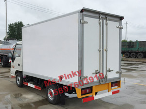 2Tons Mini Refrigerator Van Truck JAC light Refrigerator box trucks for fresh meat 10% discount for sal Ms.Pinky 0086 1589763919