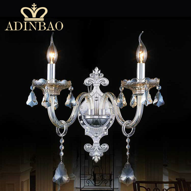 Crystal and Chrome Wall Sconces Promotion-Shop for