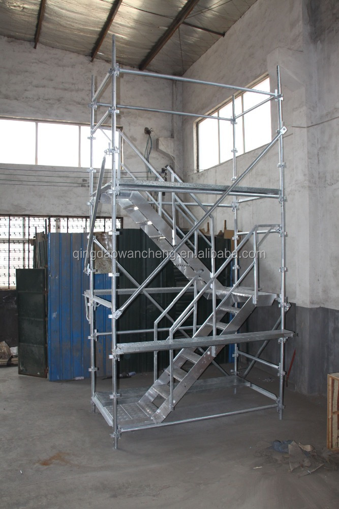 Rapid stage scaffolding