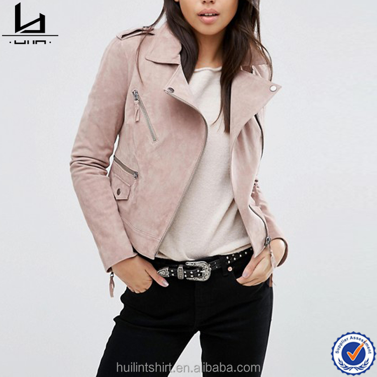 online shopping india unique zipped cuffs leather simple jacket