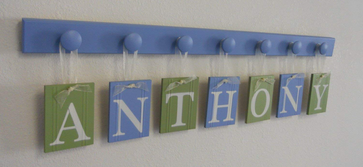 Personalized Wall Letters Find