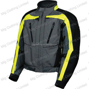 Textile cordura jackets for motorcycle riders