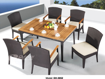 Cheap Dining Table Set Chair Restaurant Furniture , Metal Restaurant Chairs  For Sale