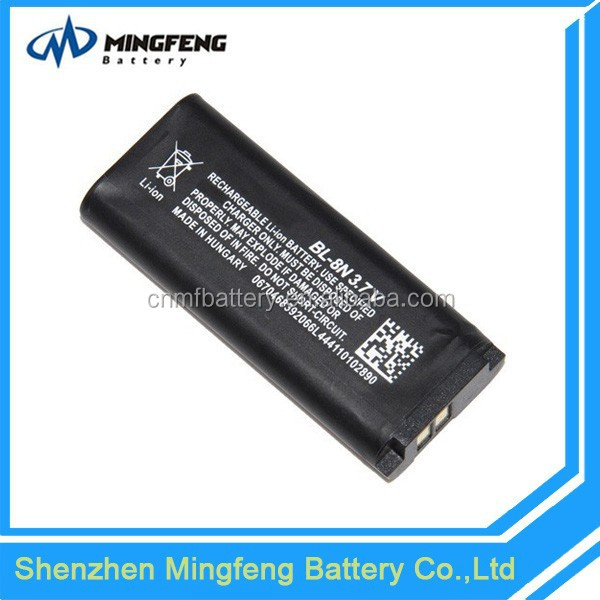 Top Sale Mobile Phone Battery BL-8N Battery for Nokia 7280/7380 Mobile Phone