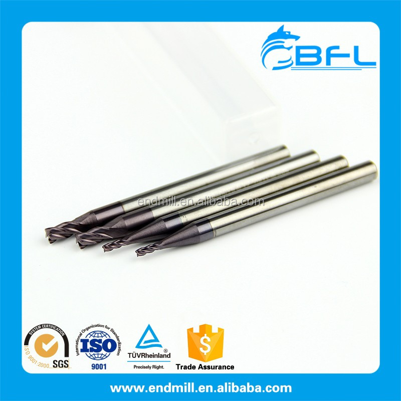 BFL Solid <strong>Carbide</strong> 4 Flute Square End Mill Tialn Coating D4*11*50*4F