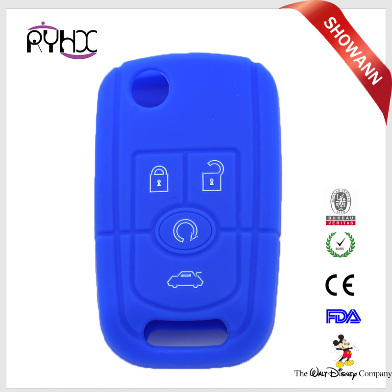 Perfect suitable silicone car key protect cover shell for Buick Excelle