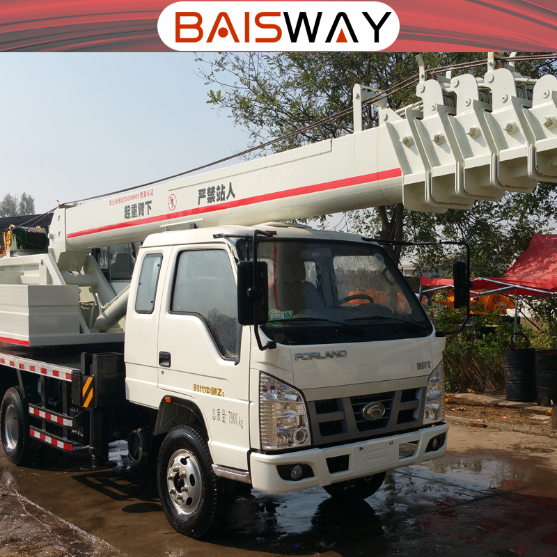 China T-King 8 ton truck crane factory sale