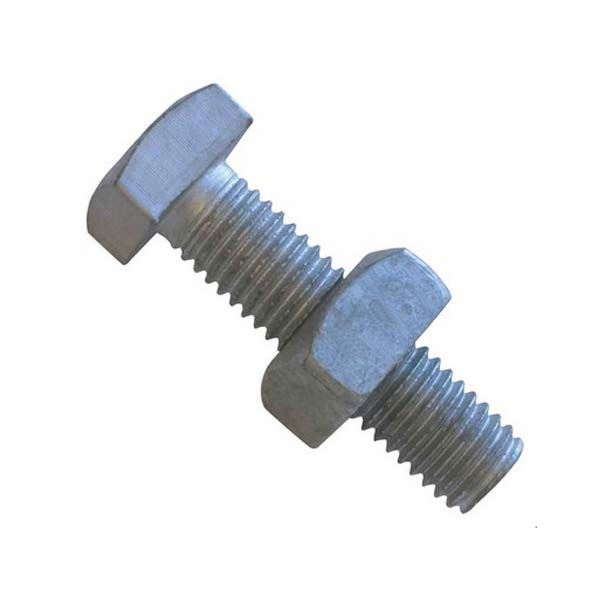 china OEM manufacturer forging bolt and nut t head bolt