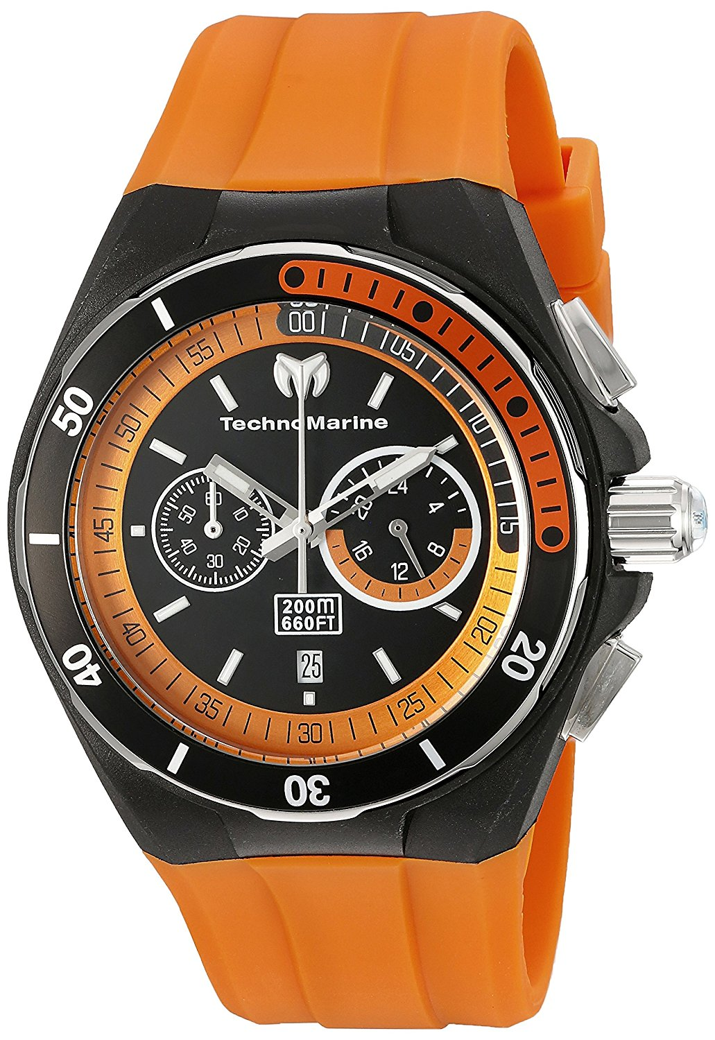 Technomarine Men's TM-115161 Cruise Sport Analog Display Quartz Orange Watch