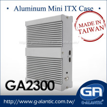 Industrial Fanless PC Mini ITX Aluminum Case GA2300