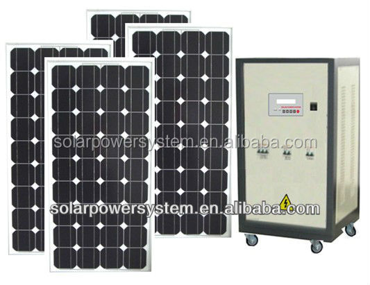 HOT Sale Green Energy Solar Home System For Home Use 500w of Household Off Grid solar atmospheric water generator