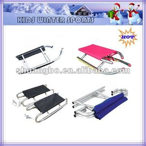 Aluminum folding sled