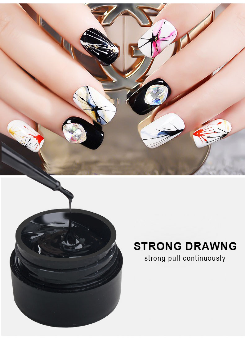Fashion And Creative Nail Art 2019 Mixcoco Uv Nail Polish Gel Spider ...