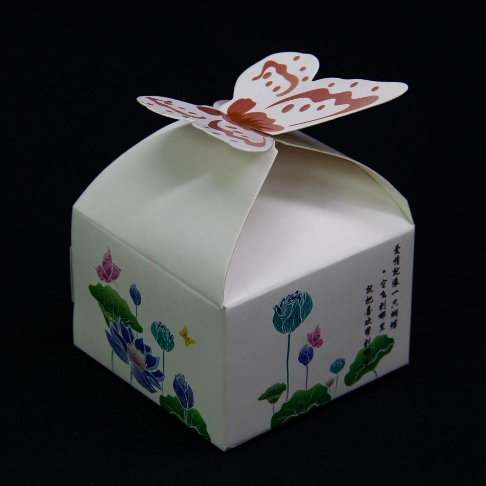 Wedding Favor Gift Boxes: Vintage Wedding Gift Favor Boxes Casamento Paper Wedding