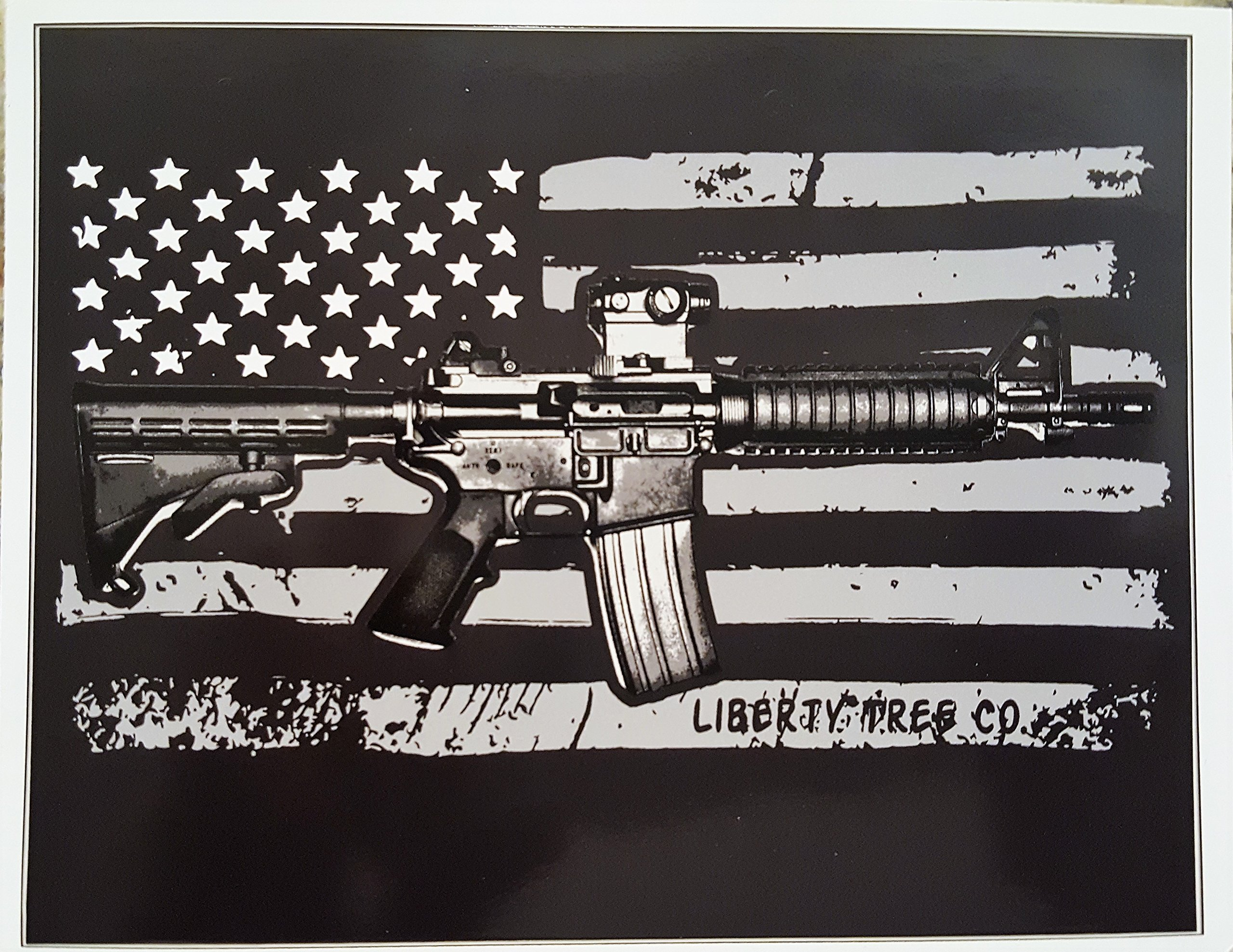 Ar 15 decal american flag ar 15 vinyl vinyl sticker 2nd amendment decal