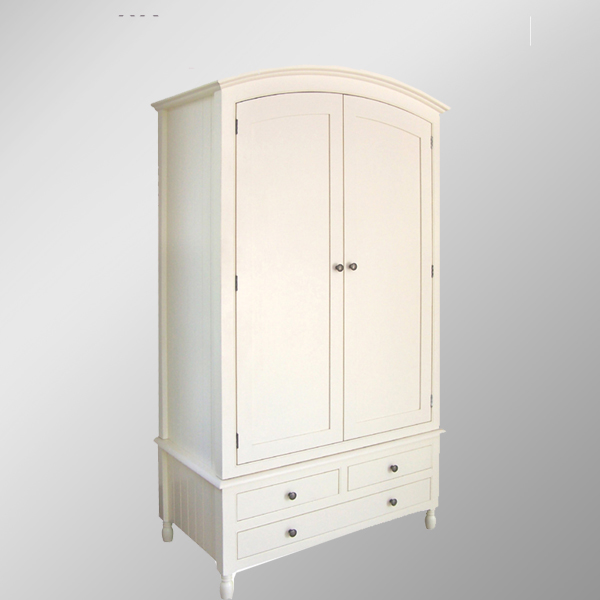723 Range Solid Pine Gent's Wardrobe/wooden Clothes Cabinet