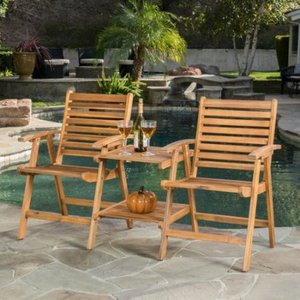 Outdoor Home Goods Patio Furniture Adjoining Arm Chair Furniture