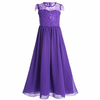 6ac1139db 7-14 Years Old Girl Long Gowns Piano Proms Dress Summer Elegant Beautiful  Wholesales Baby