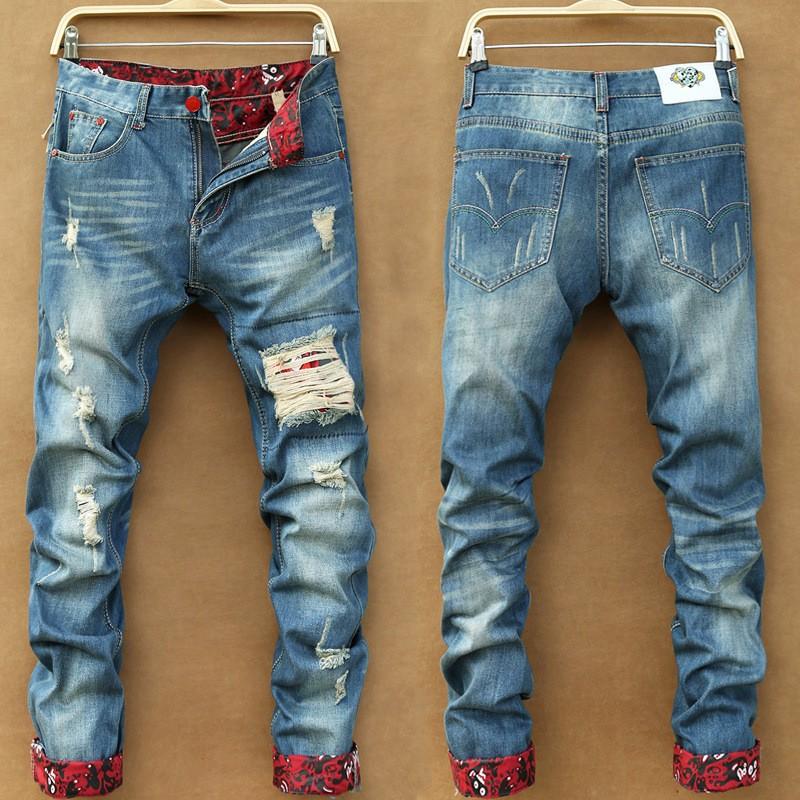 bd7eda4d Wholesale Denim Branded Name Authentic Men Biker Funky Jeans With Stock Lots