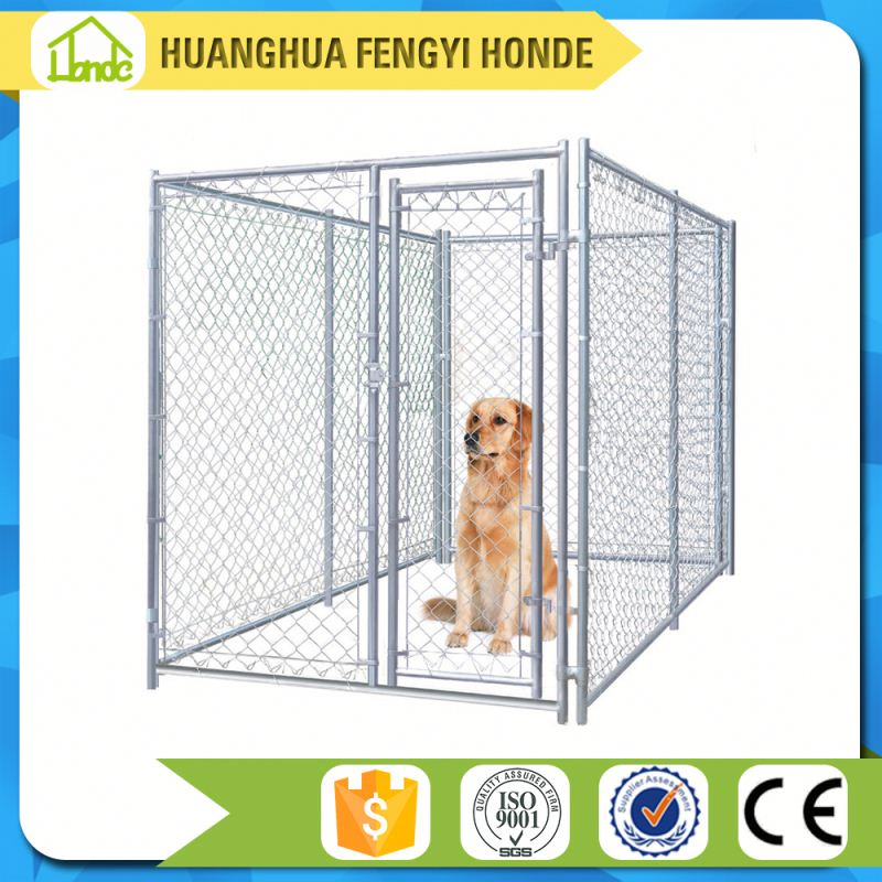 wholesale large outdoor cheap chain link dog kennels/outdoor dog fence/portable dog fence