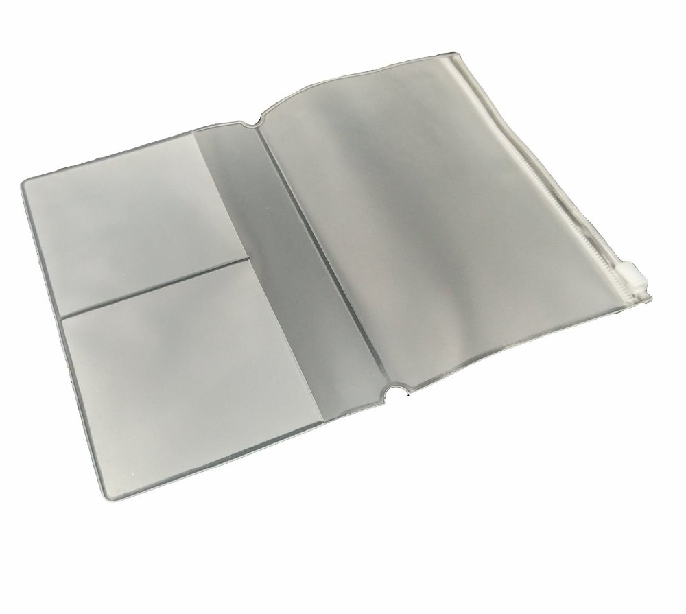 Transparent PVC Plastic Protective Book Cover , PVC file/document/book holder